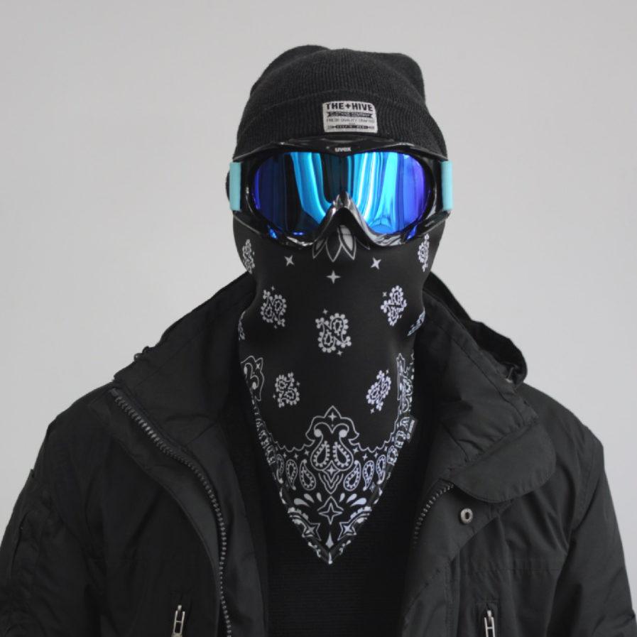 Maska narciarska ocieplająca