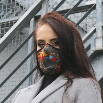 Maska ochronna Cristal Splash!, Safety mask