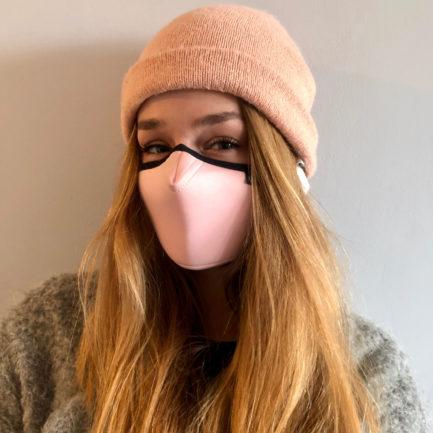 Maska ochronna Cristal Pink, Maski antysmogowe
