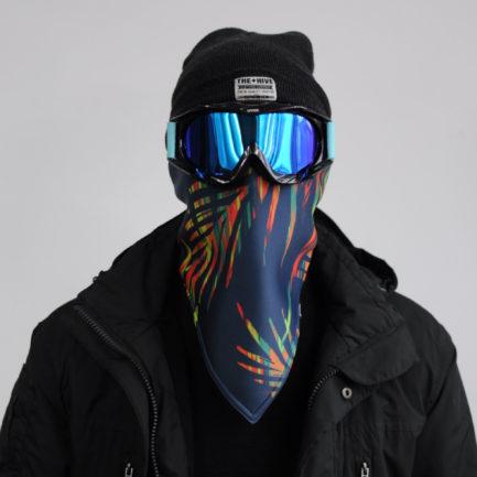 Maska ocieplająca na snowboard, Maski antysmogowe