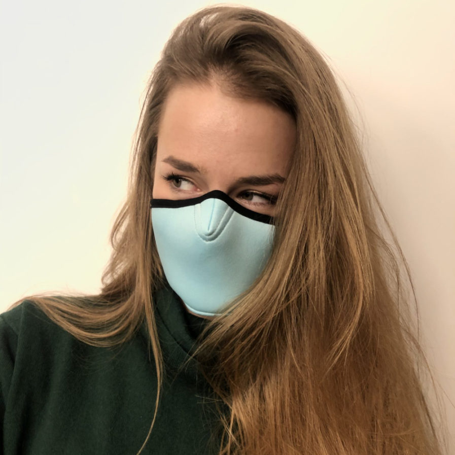 Maska ochronna Cristal Turquoise, Maski antysmogowe